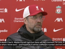 Klopp praised the Reds. DUGOUT