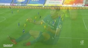 Brasileiro decide no último minuto para o Gwangju. DUGOUT