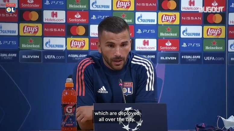 Lopes spoke before the Bayern Munich match. DUGOUT