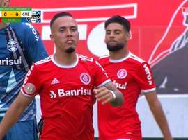 Internacional won it right at the death against Gremio. DUGOUT