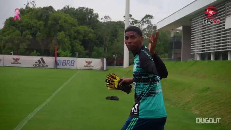 Flamengo train. DUGOUT