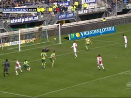 Vertonghen scored for Ajax. DUGOUT