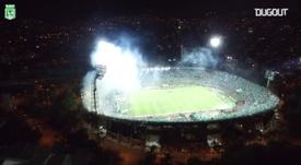 Atlético Nacional conquistou o título da Libertadores de 2016. DUGOUT