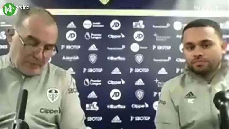Bielsa se deshizo en elogios hacia Guardiola. Captura/DUGOUT