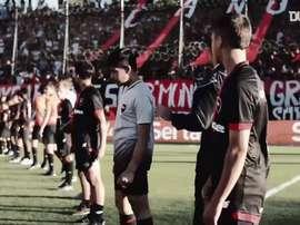 La dernière venue de Maradona à Newells. Dugout