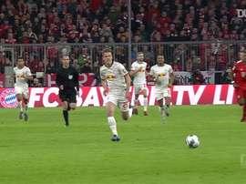 Explosão física de Alphonso Davies no Bayern de Munique. DUGOUT