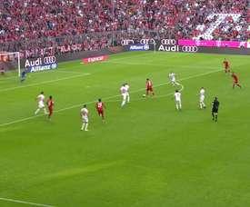 La partita del Bayern contro l'Union Berlino. Dugout