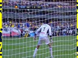 Benítez scored a hat-trick for América. DUGOUT
