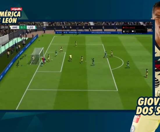 América y León se enfrentaron en la eLiga MX. Dugout