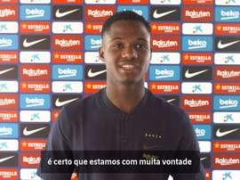 Ansu Fati vê Barça motivado para nove finais na LaLiga. DUGOUT