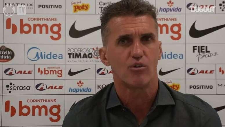 Mancini fala sobre desgaste físico e mudanças no Corinthians. DUGOUT