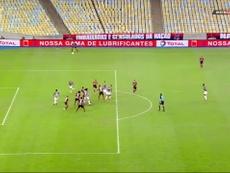 Pedro scored for Flamengo. DUGOUT
