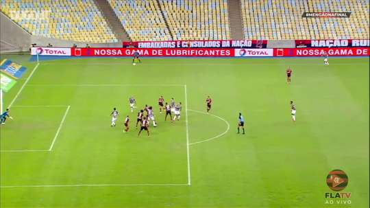 Pedro scored for Flamengo. DUGOUT