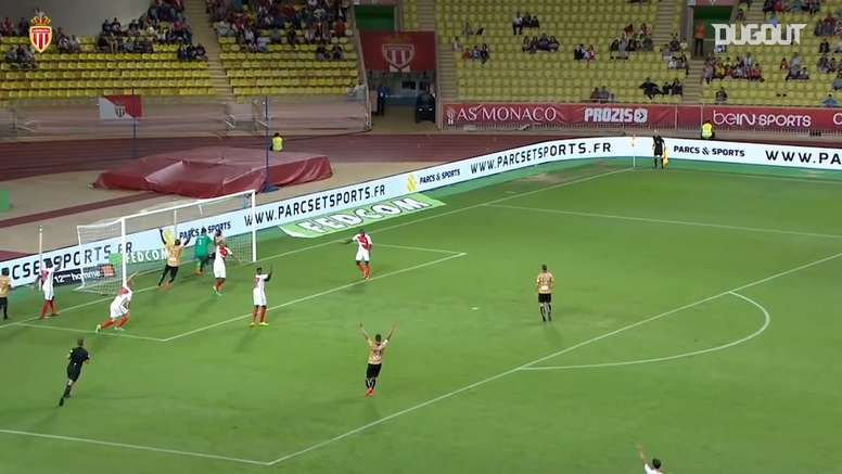 Monaco came from behind to beat Angers back in 2016. DUGOUT