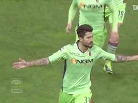 Il goal di Kone nel derby. Dugout