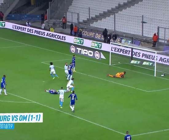 Todos los goles de Luiz Gustavo en el Olympique de Marsella. DUGOUT