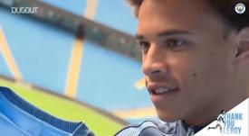 VIDEO: Man City's farewell to Leroy Sané. DUGOUT