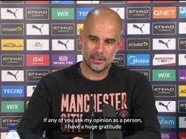 Pep discussed Messi rumours. DUGOUT