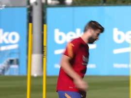 Umtiti is back. DUGOUT