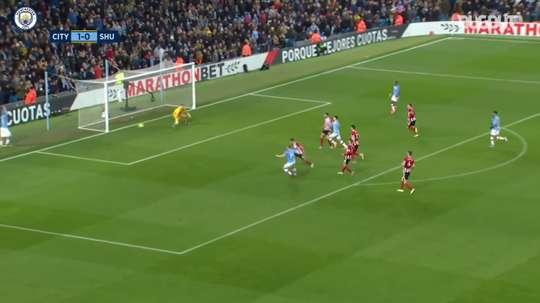 VIDÉO: Le joli but de Kévin de Bruyne contre Sheffield United. Dugout