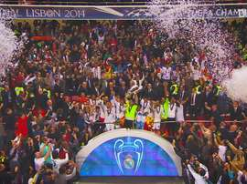 La finale tra Real Madrid e Atletico. Dugout