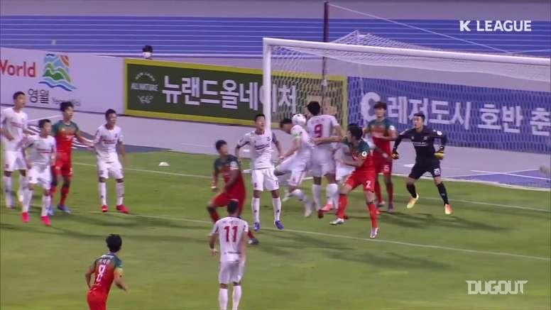 I gol del 14esimo turno della K League. Dugout