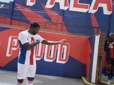 Palace released their new kit. DUGOUT
