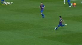 Xavi was key to Barca's Guardiola side and Spain's golden era. DUGOUT