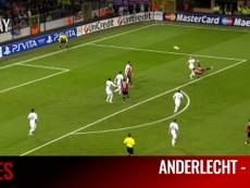 VIDÉO : Le but somptueux de Mexes contre Anderlecht. DUGOUT