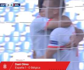 Olmo scored this goal for Spain u21s. DUGOUT