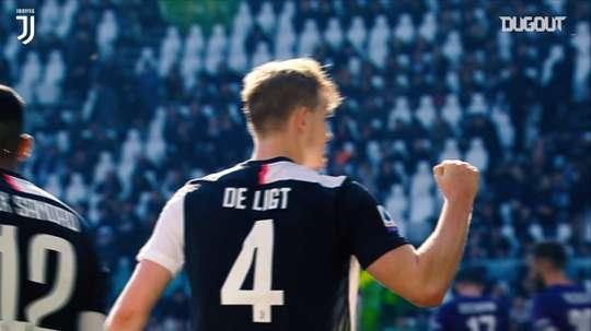 De Ligt si prende la Juventus. Dugout
