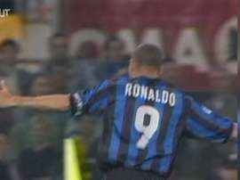 La 'manita' dell'Inter contro la Roma. Dugout