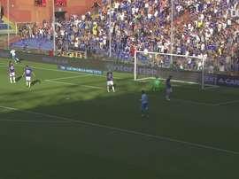 Le but magnifique d'Insigne contre la Sampdoria. DUGOUT