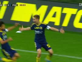 Romanov scored for Rostov. DUGOUT