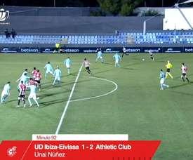 Unai Nunez broke Ibiza's hearts at the death in the Copa del Rey. DUGOUT