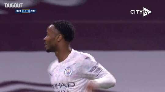 Sterling scored a brace. DUGOUT
