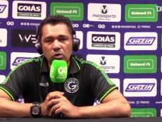 Treinador do Goiás analisa derrota. DUGOUT