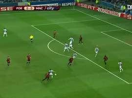 VIDÉO : la victoire de City contre Porto en 2012. Dugout