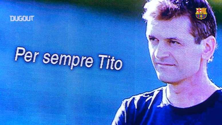 El Barcelona remontó al Villarreal para ofrecerle el triunfo a Vilanova. DUGOUT