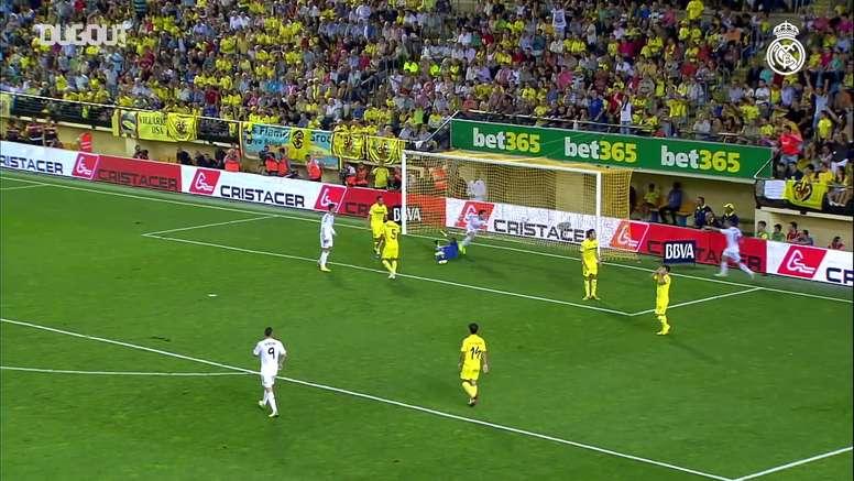 Le premier but de Bale avec le Real Madrid. DUGOUT