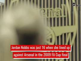 Nobbs is an Arsenal legend. DUGOUT
