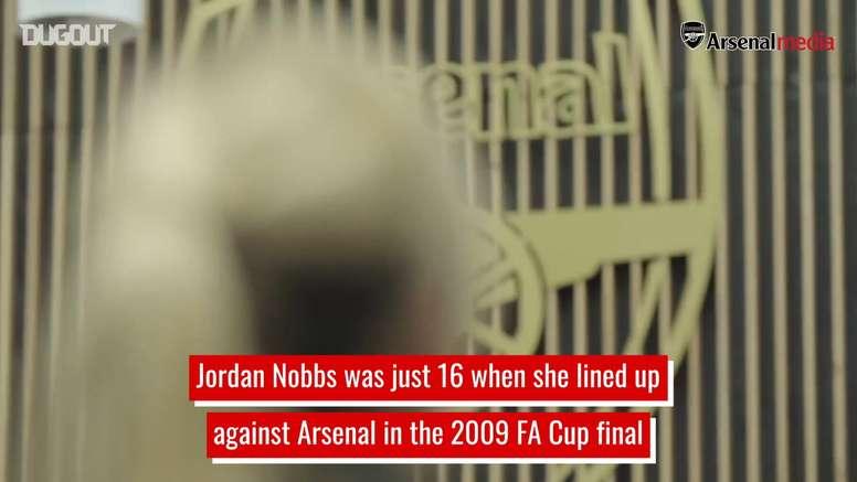 Nobbs is an Arsenal legend. DUGOUT