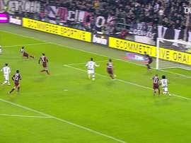 Cuadrado marca no último minuto para a Juve contra o Torino. DUGOUT