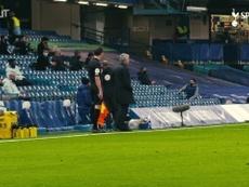 Reações de Mourinho no empate entre Tottenham e Chelsea. DUGOUT