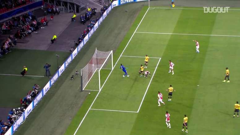 La prima stagione di Promes all'Ajax. Dugout