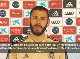 Benzema veut gagner contre Eibar. Dugout