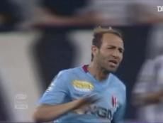 Les derniers buts de Bologne à la Juventus. Dugout