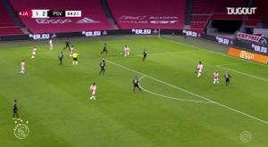 Antony brilha, e Ajax arranca empate com o PSV. DUGOUT