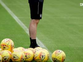 Gerrard is encouraged by his side's return to training. DUGOUT
