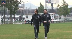 Jorge Valdivia y su primera sesión en Colo-Colo. DUGOUT